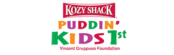 Kozy Shack Puddin Kids First logo