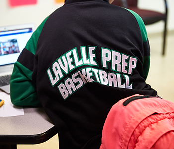 Lavelle Prep Basketball sweater