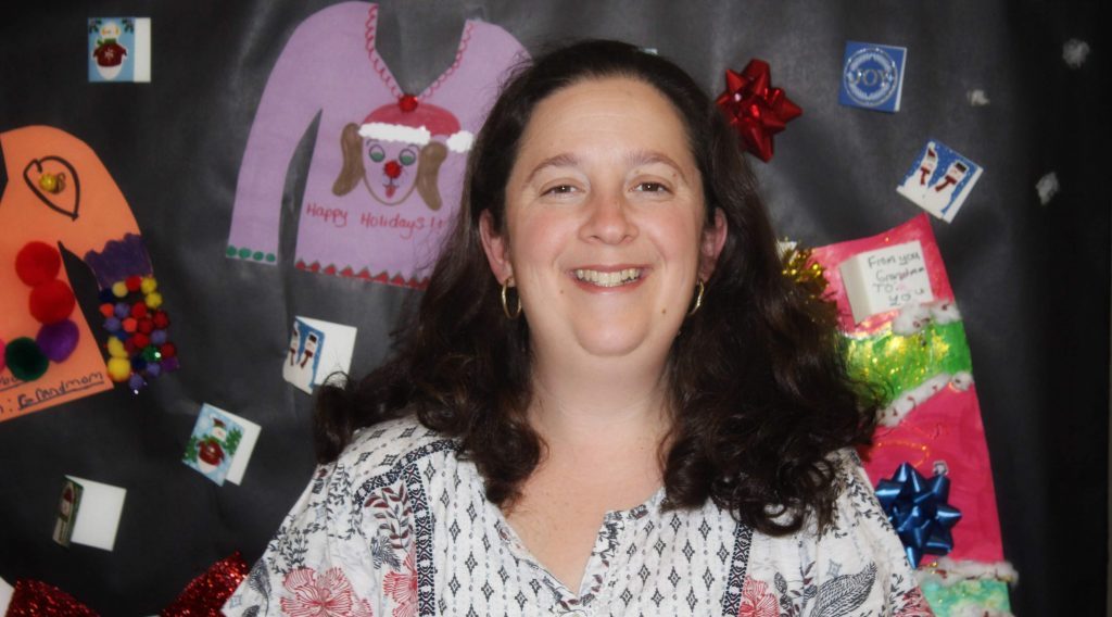 Beth Marin, November Teacher Assistant of the Month