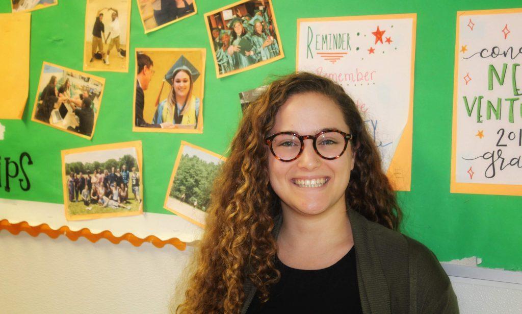 Pazia Miller, November Teacher of the Month
